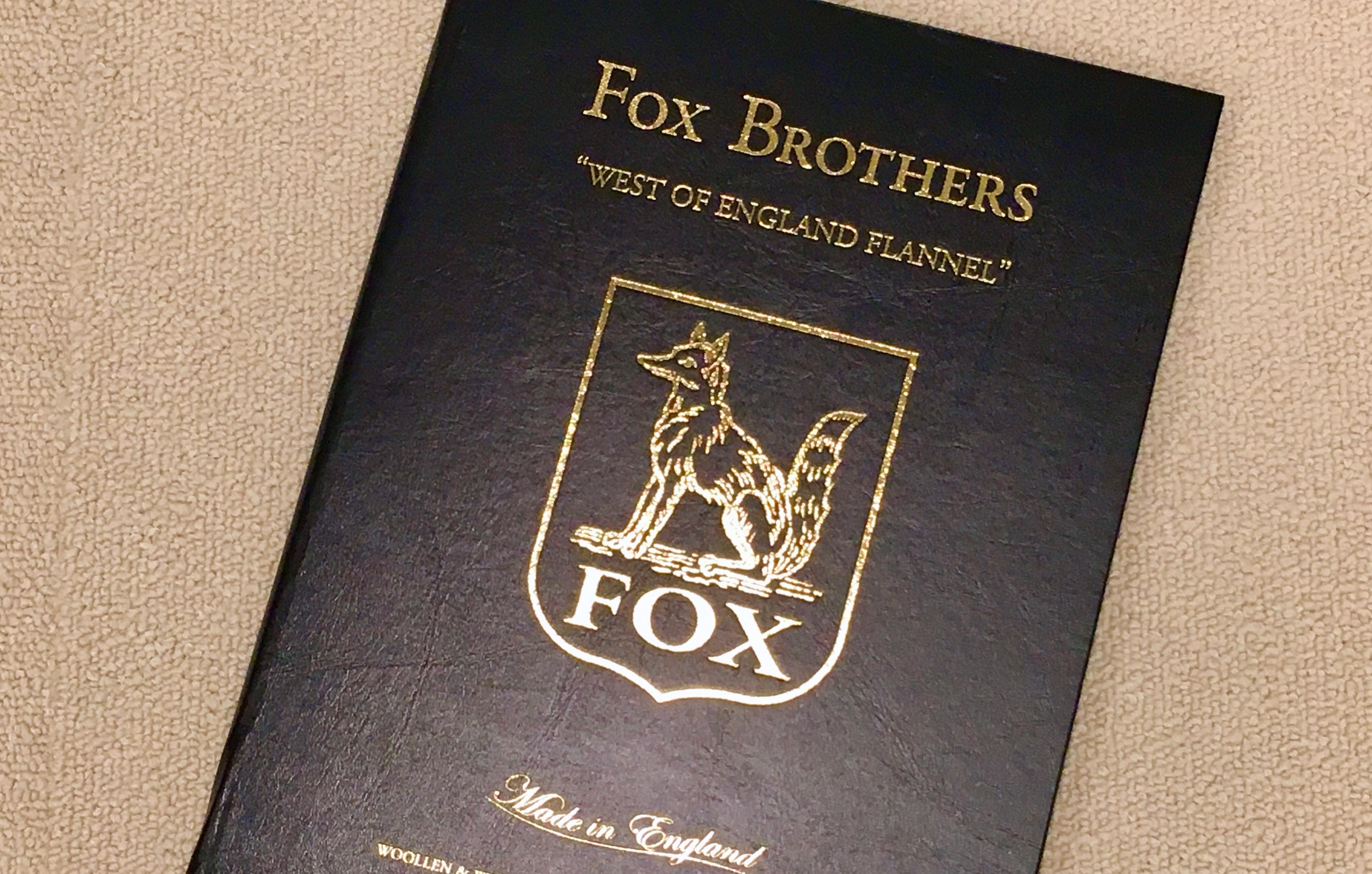 英フランネルの雄☆『FOX BROTHERS/フォックス・ブラザーズ』