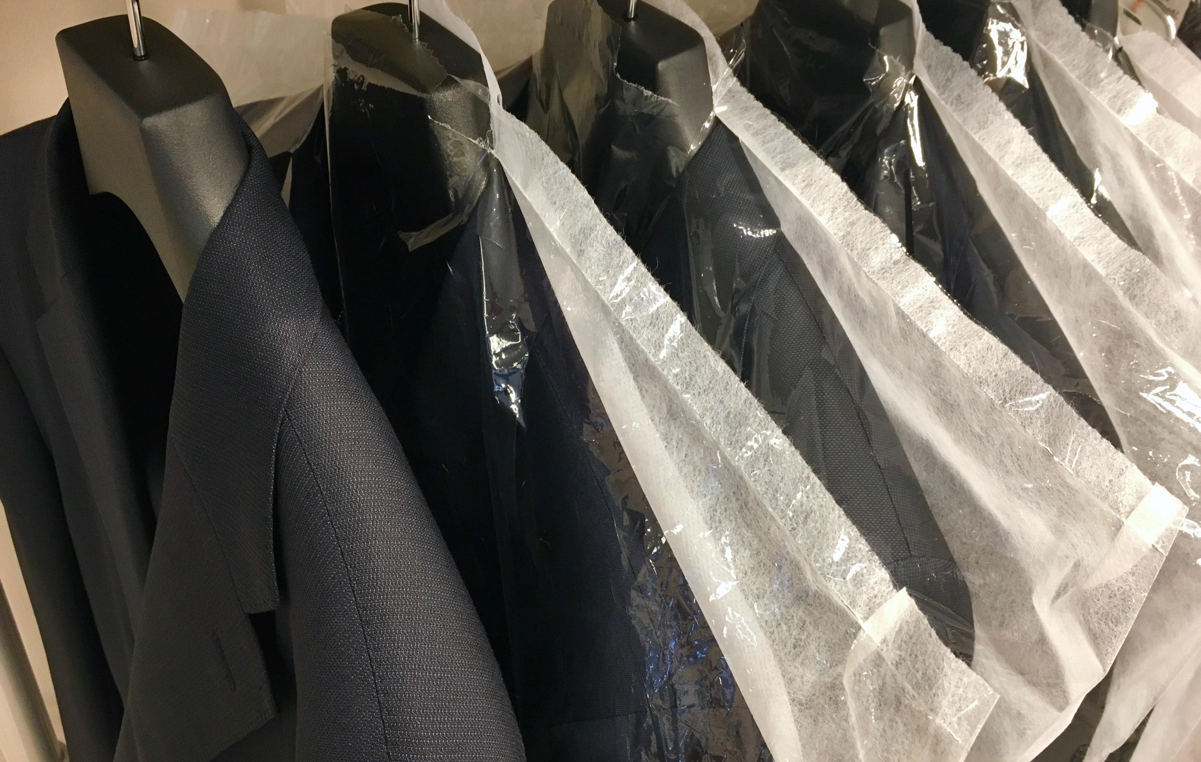衣替えのシーズン☆オーダースーツのメンテナンスは大丈夫ですか?☆CENTO匠のクリーニング