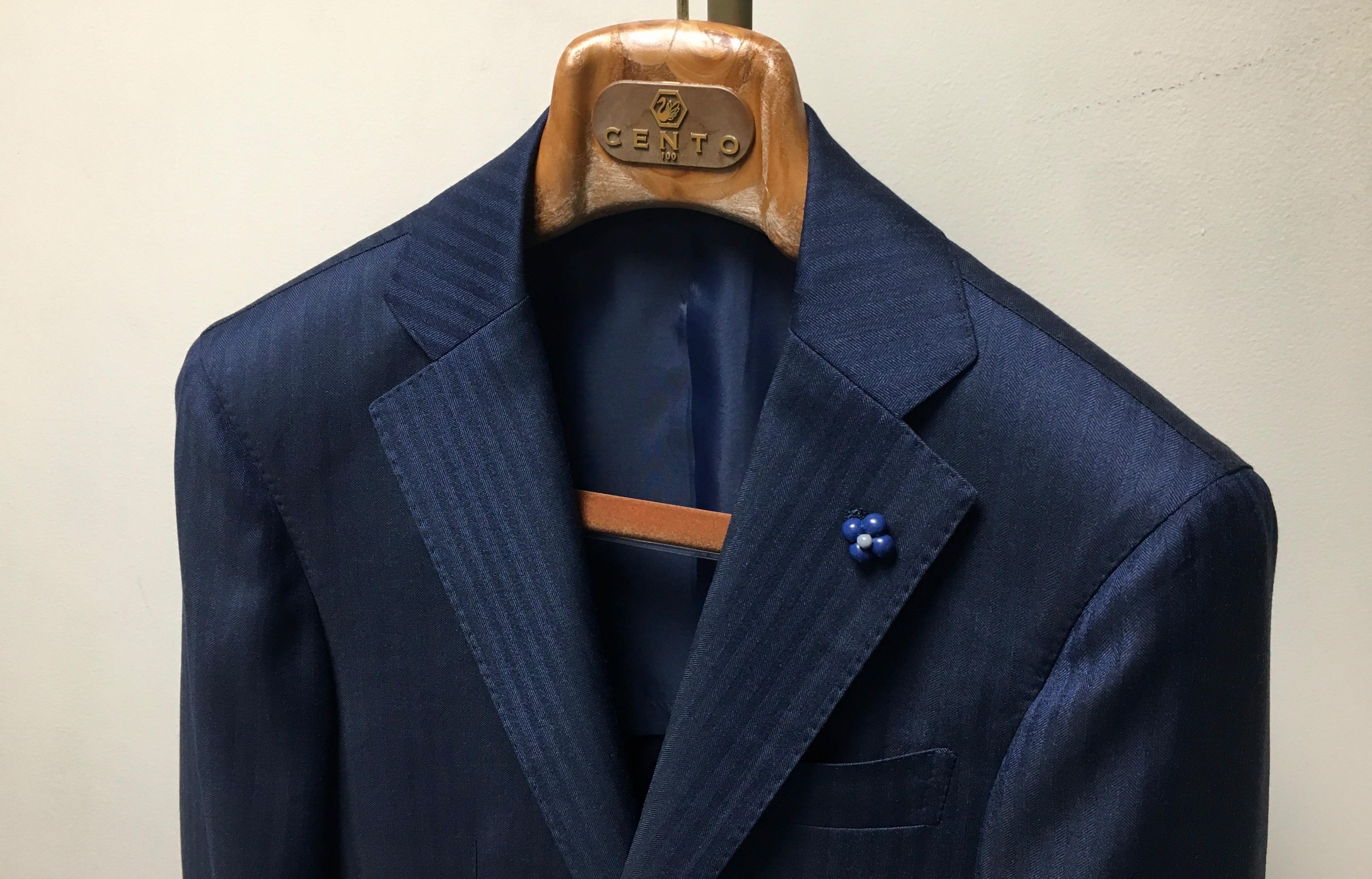 オーダージャケット☆CANONICO/カノニコの軽量ジャケット
