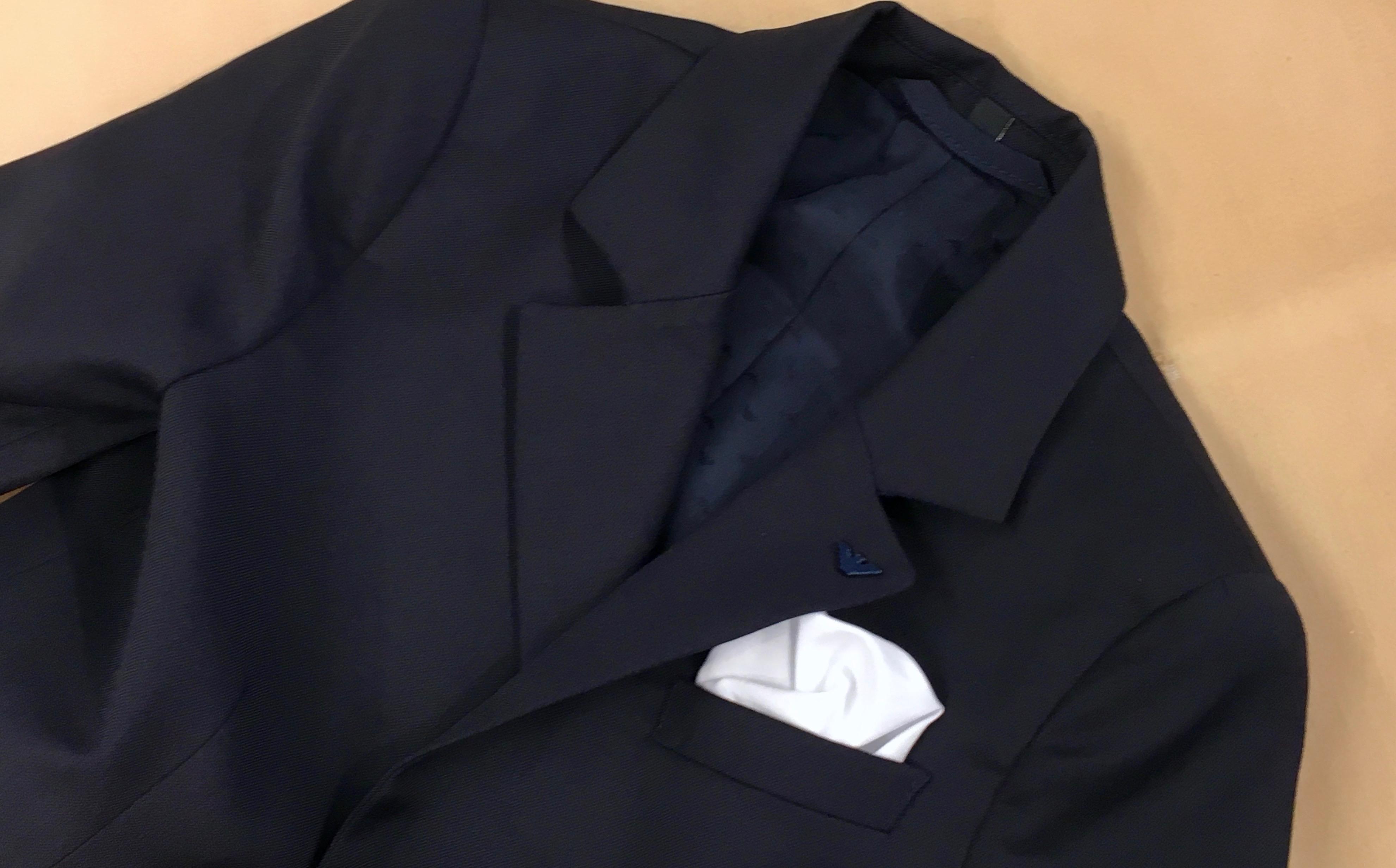 CENTO☆キッズスーツをクリーニング